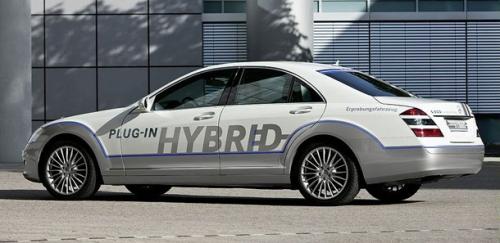 Mercedes S500 концепт гибридного автомобиля