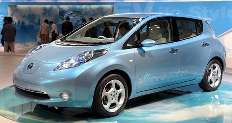 Nissan LEAF(некоторые называют Ниссан Леаф) Женевский Автосалон 2011
