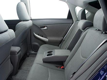 Заднее сиденье Тойота Приус 2011
