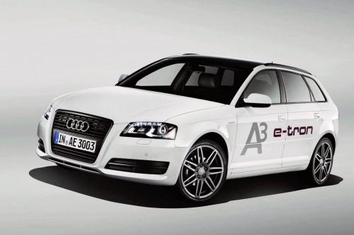 Audi A3 e-Tron 2011 (электромобиль Ауди е-Трон 2011)