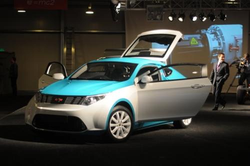 Ё-мобиль, первый российский гибридный автомобиль 2011