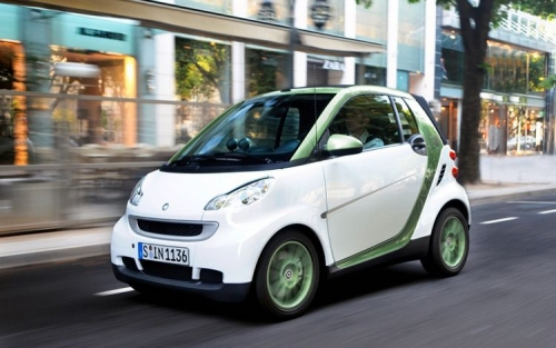 Электромобиль Смарт на двоих (Smart fortwo) 2011