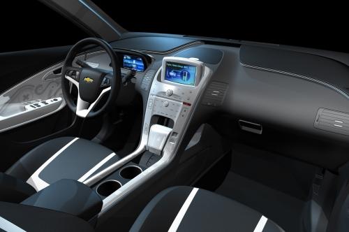 гибрид Шевроле Вольт МПВ5 (Chevrolet Volt MPV5) салон
