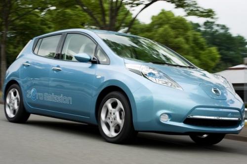 внешний вид Nissan LEAF 2011