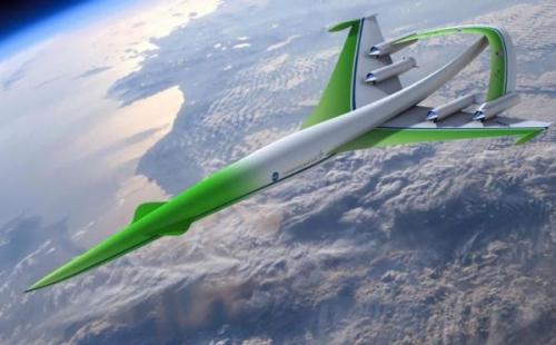 Дизайн сверхзвукового самолёта будущего  NASA's Supersonic Green Machine