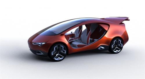 Ё-Мобиль спортивный концепт от Ё-Авто (вид слева)