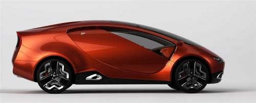 Ё-Мобиль спортивный концепт от Ё-Авто (вид справа)