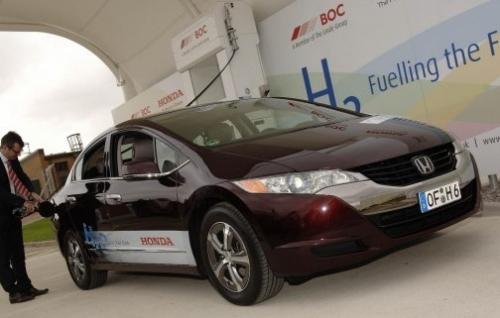 Водородные заправки Хонда