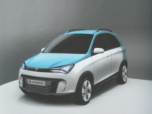 Новый Ё-кроссовер дизайн с ПМИФ 2011
