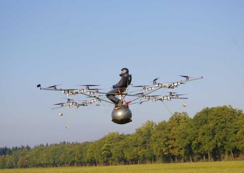 электрический мульти-вертолёт