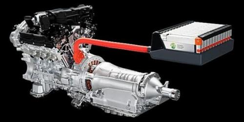 Гибридный двигатель Инфинити (Ниссан Фуга) и аккумуляторный блок