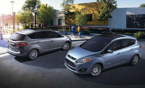 Ford C-MAX Hybrid 2013 (форд гибрид минивэн 2013)