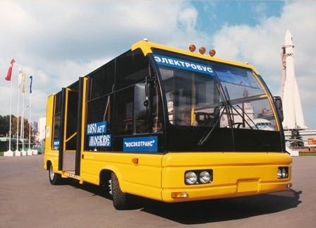 Электробус в Москве