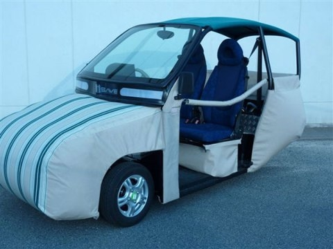 Самый безопасный электромобиль