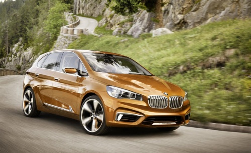 Новинка от BMW: Active Tourer Outdoor